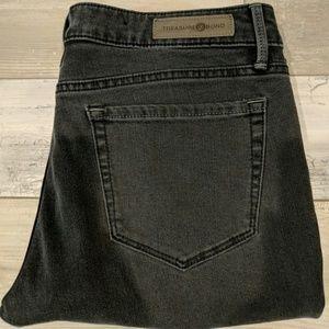 Treasure and Bond Charcoal Grey Skinny Jeans